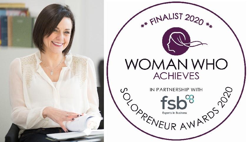Woman Who Achieves Awards