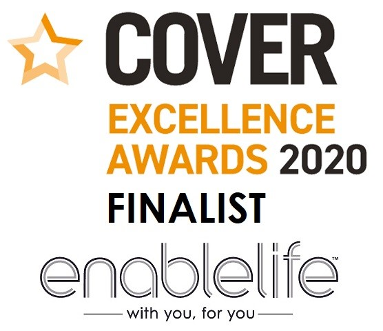 Cover Excellence Awards 2020 | Enable Life