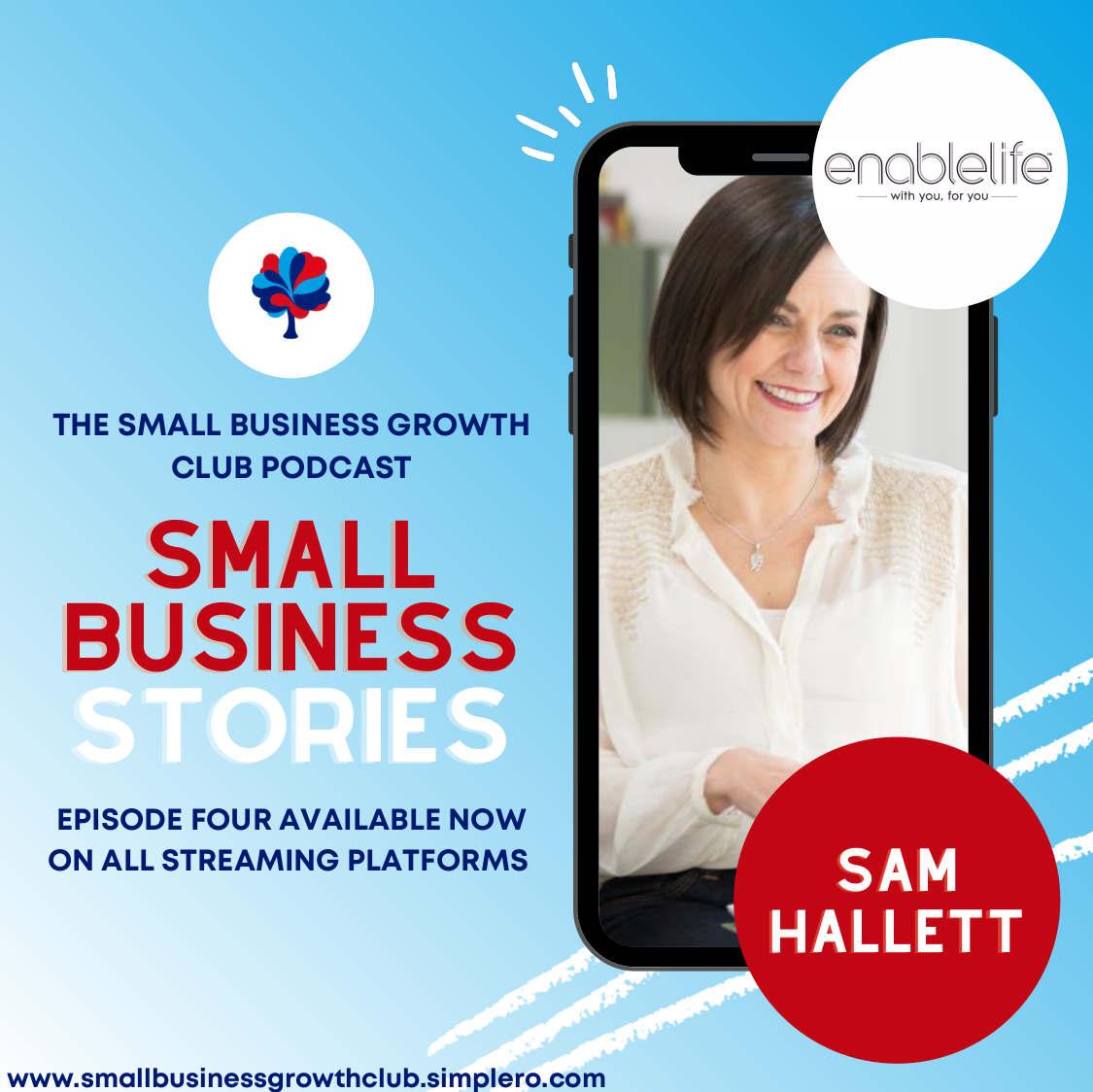 Sam Hallett - Small Business Stories